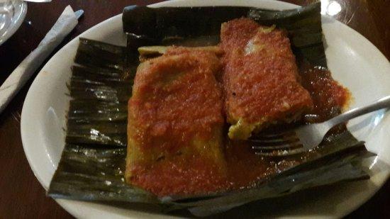 Cafe la Habana: Tamales yucatecis