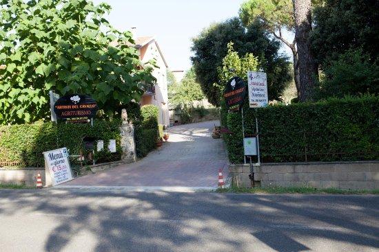 Foiano Della Chiana, Italia: Ingresso del Ristorante/Agriturismo