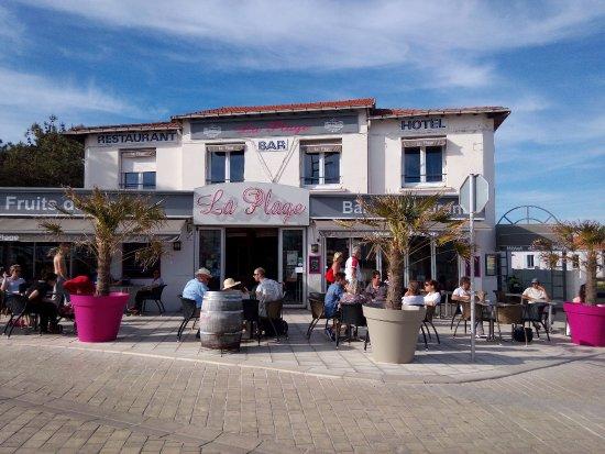 La Faute sur Mer, Francja: Le restaurant