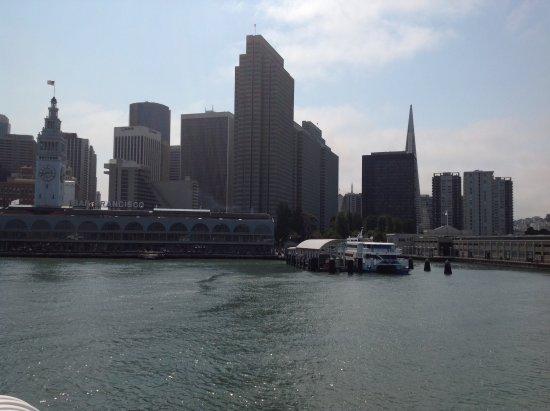 Sausalito, Kalifornia: Arrivò con il battello a San Francisco