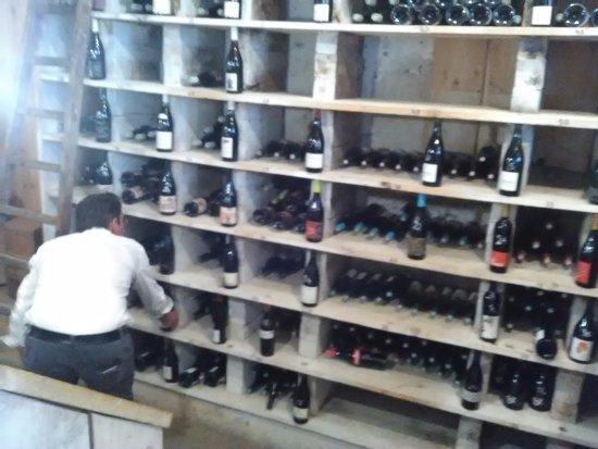 Bourgueil, ฝรั่งเศส: La cave à vin