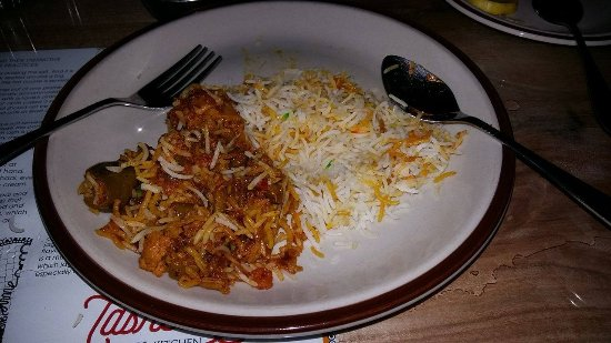 tasneem s kings kitchen veg biryani i could not describe in words about its taste