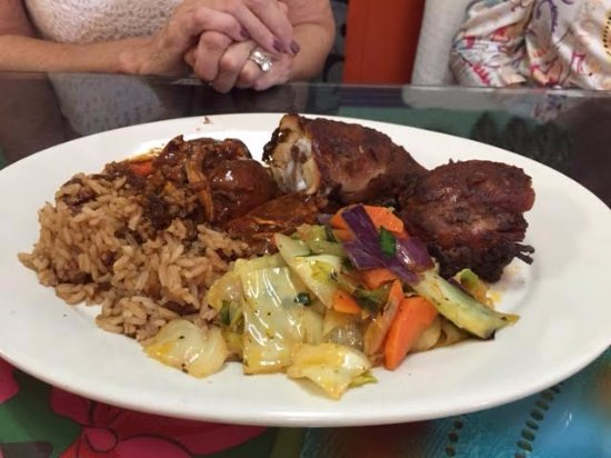 Greenacres, FL: Jerk chicken