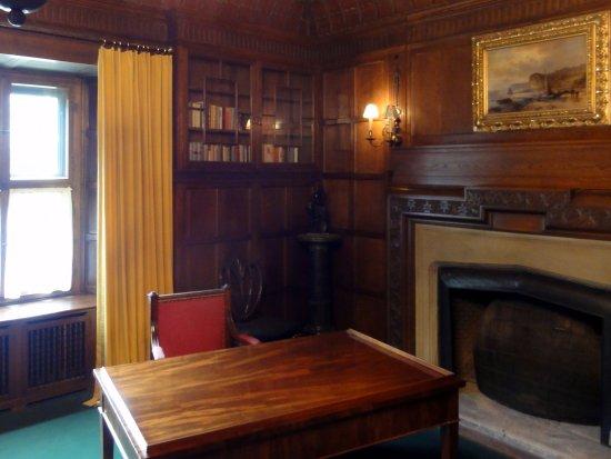 Schloss Cecilienhof: チャーチルが使った部屋