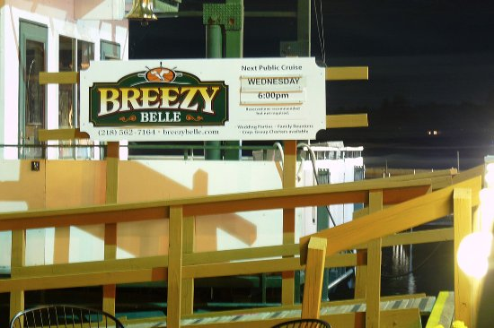 Climb aboard the Breezy Belle at Breezy Point Resort just north of Brainerd, MN in central Minne