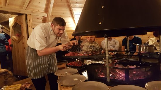 Gatehouse of Fleet, UK: BBQ Hut on the Hill - Highly recommend