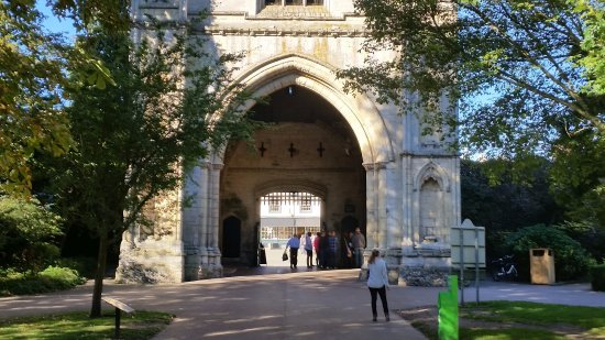 Bury St. Edmunds, UK: Abbey gardens