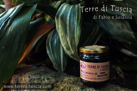 Manziana, Itália: Marmellata di More Selvatiche