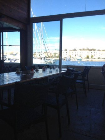 Та'Ксбиекс, Мальта: View from inside the restaurant