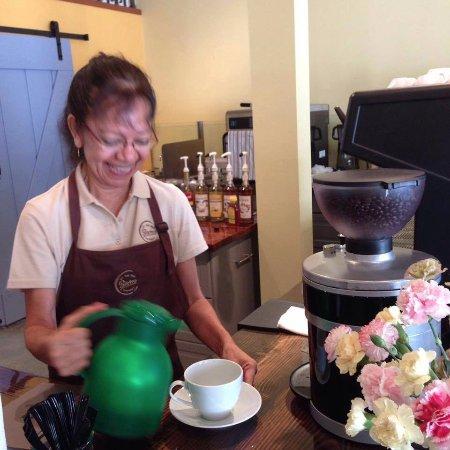 Osprey, FL: Enjoy our espressos made by our wonderful barista Dalila.