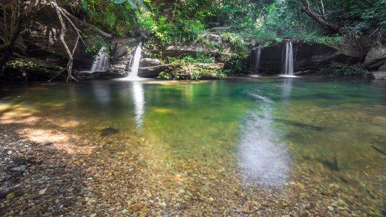 Rio da Conceicao: cachoeira das 17 travessias do Brejo Limpo.