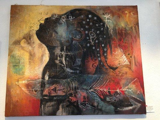 Stege, Dania: En herlig udstilling af en mand fra Cuba, fantastiskt stærke billeder. Og som altid masser af ga
