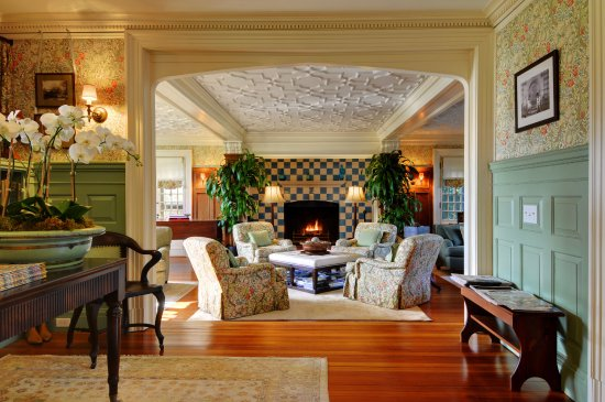 East Hampton, estado de Nueva York: The Baker House lobby