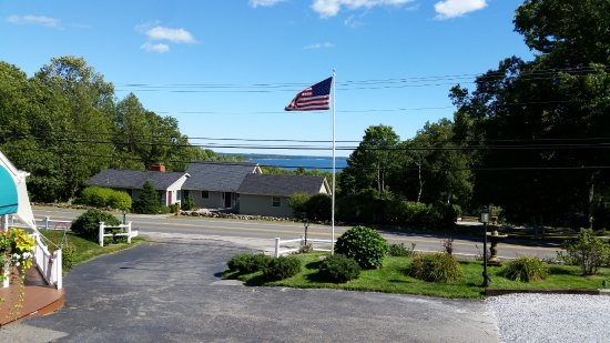Lincolnville, ME: VIEW FROM OUR ROOM