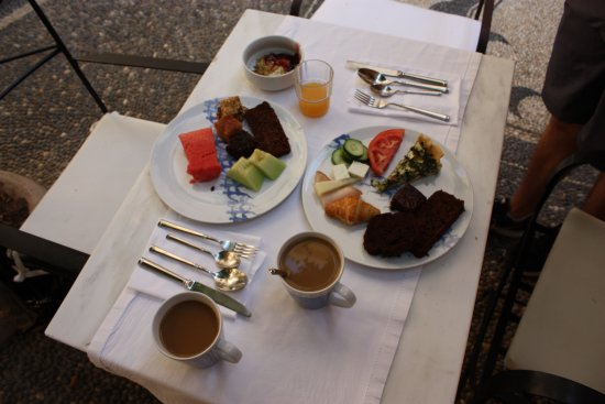 Casa Delfino Hotel & Spa: unreal breakfast