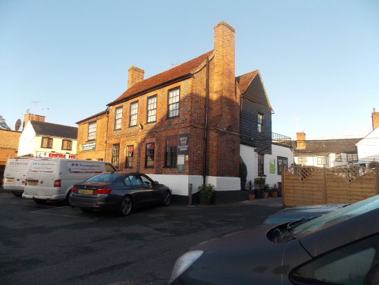 Witham, UK: Hotel see from the Free carpark