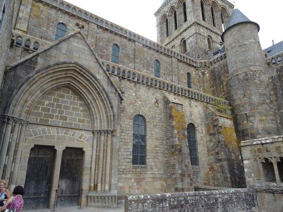 Abbaye du Mont-Saint-Michel : Pause sur la Terrasse Saint Gaultier