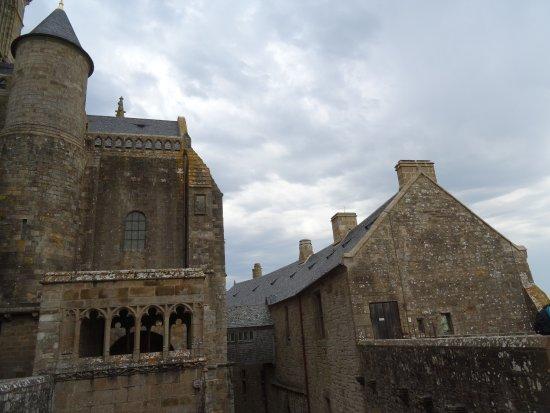 Abbaye du Mont-Saint-Michel : La Terrasse Saint Gaultier