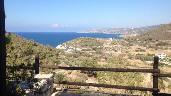 Kritinia, Grecia: La vue sur mer est identique pour toutes les chambres