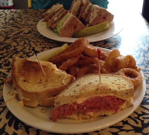 Nokomis, FL: Reuben and Club Sandwiches