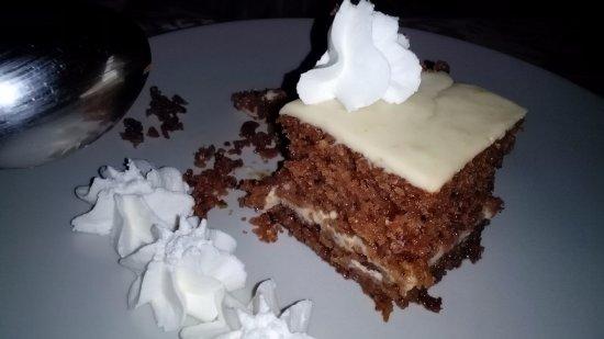 Almedinilla, Espanha: El mejor pastel de zanahorias que he probado!!!