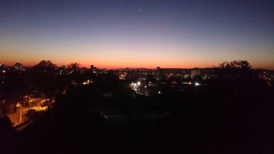 Santa Cruz do Sul, RS: Vista do por do sol.