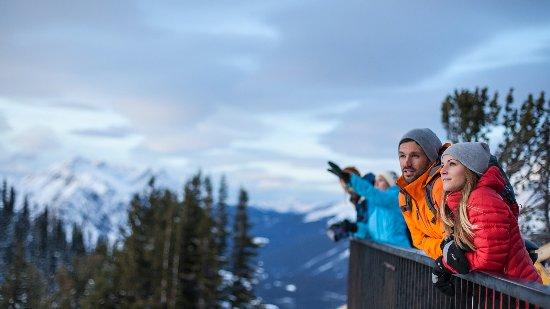 Banff National Park, Canada: Sightseeing at the Banff Gondola