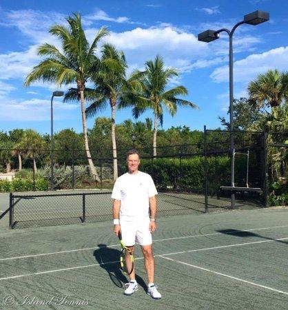 Private Lesson Fun with Island Tennis!