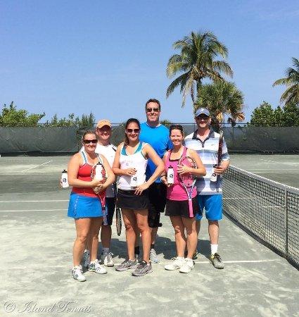 Couples Fun with Island Tennis!