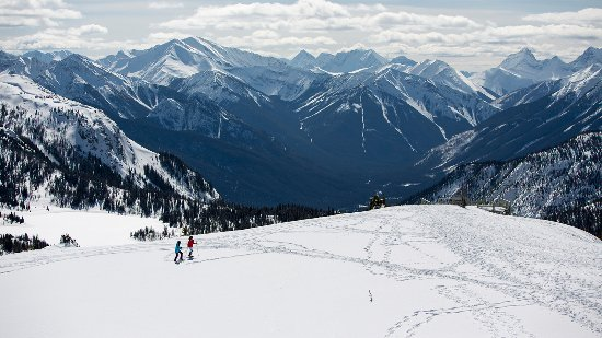 Banff National Park, Canada: Snowshoeing at Sunshine Meadows