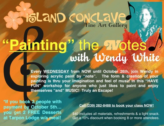 Bokeelia, Flórida: Book an Art Class at Island Conclave Fine Art Gallery