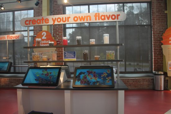 Columbia, Pensilvania: Interactive Feature Allowing one to Invent a Custom Flavor
