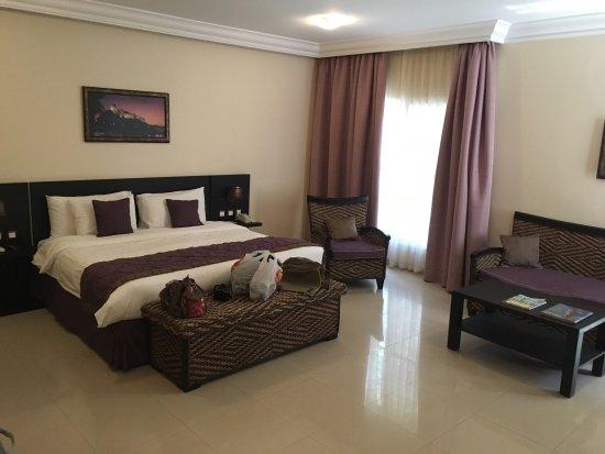 Barka, Omã: Zimmer und Badezimmer