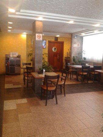 Hotel Diligencias: Restaurante.