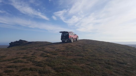 Nome, AK: 4wd rental vehicles can hack it!