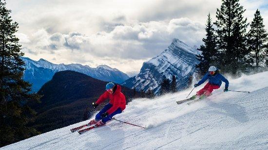 Banff National Park, Canada: Skiing at Mt. Norquay