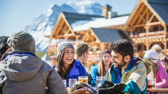Dining at the Lake Louise Ski Resort