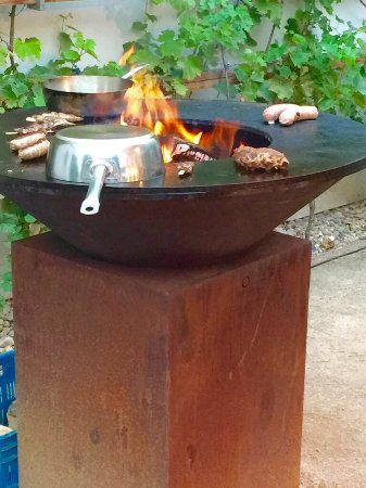 Augustine, a Luxury Collection Hotel, Prague : Swiss style BBQ at the hotel - expect an experience