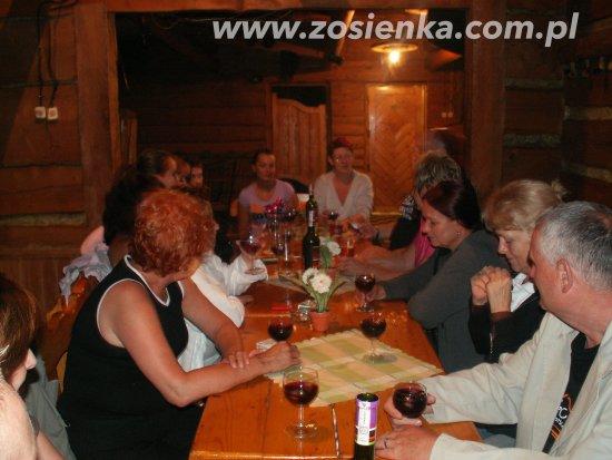Muszyna, Polen: Wieczór w Zosieńce