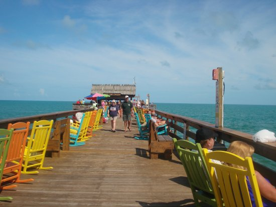 On the pier picture of cocoa beach pier cocoa beach for Cocoa beach fishing pier