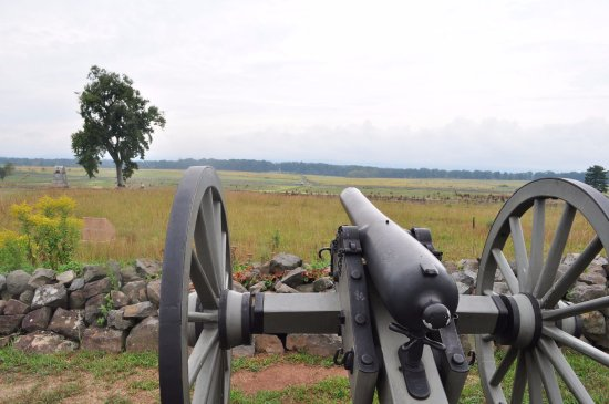 """Gettysburg National Military Park: View from """"The Angle"""""""