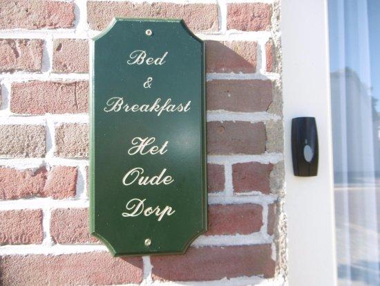 Bed and Breakfast Het Oude Dorp