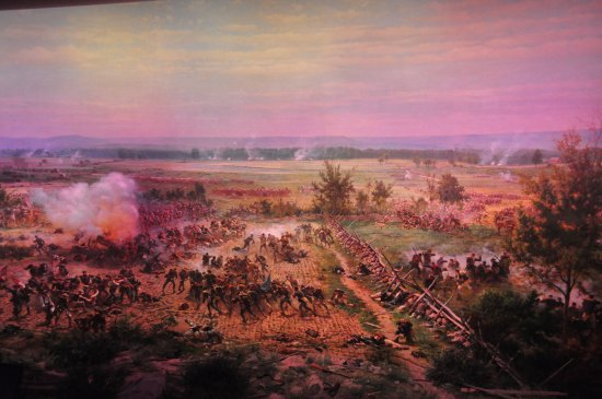 Gettysburg National Military Park: Another shot of the Cyclorama