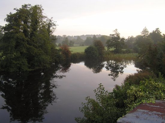 Mill Lane Bed & Breakfast: View from room balcony, overlooking the Mill Pond
