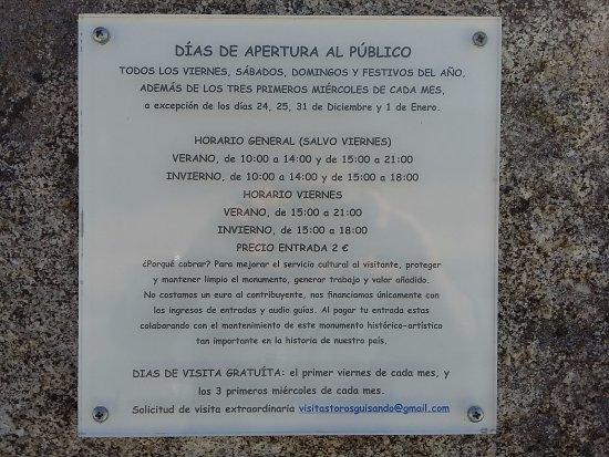El Tiemblo, Ισπανία: Horarios y días gratuitos.