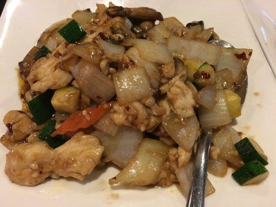 Gilbert, AZ: Garlic Chicken Stir-Fry
