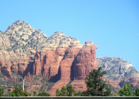 Partial Panoramic View BW Plus Inn of Sedona AZ Picture of Best
