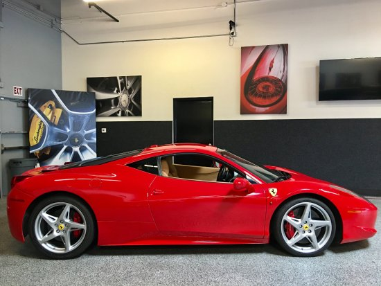 Did The 3 Car Tour And Then Rented The Red 458 Italia Picture Of