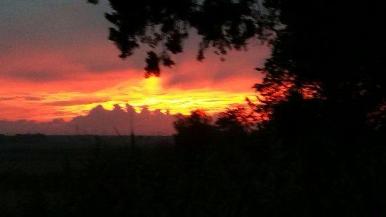 Campiglia Marittima, Italia: Prachtige invallende avonden!