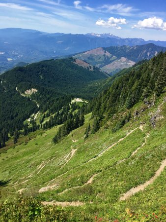 Sauk Mountain Trail: Worth the climb-outstanding views
